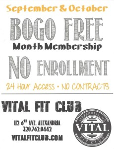Vital sept and oct  membership special