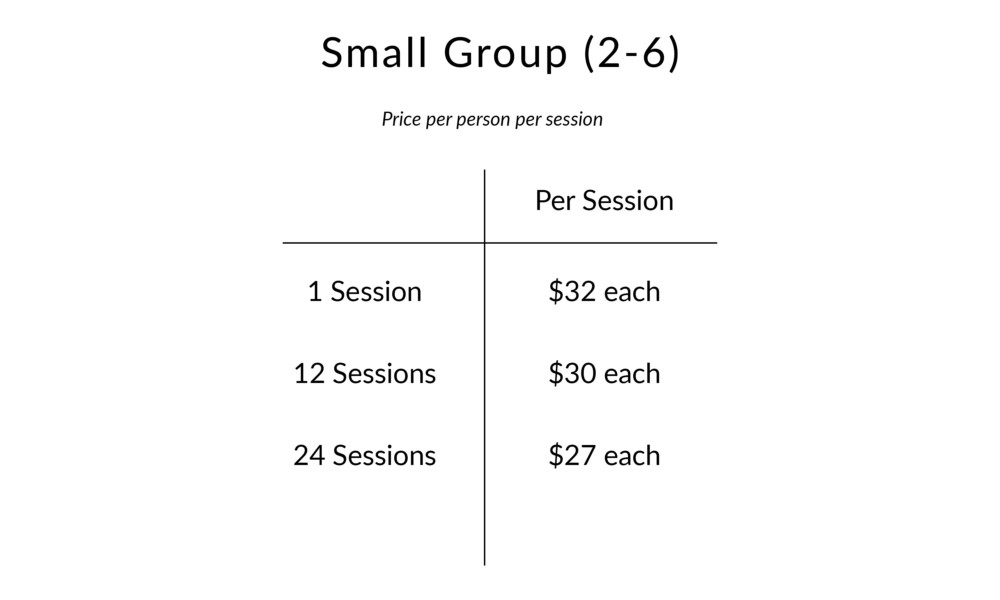 Small group use